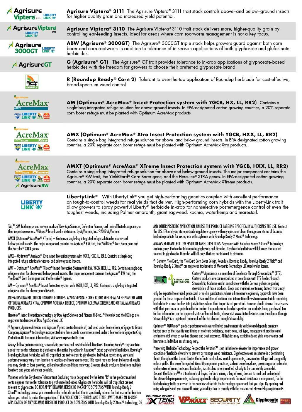 Agventure legal information